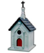 Rustic Americana River Road Church Birdhouse - £23.91 GBP