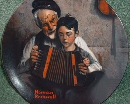 Norman Rockwell Collector Plate 1981 The Music Maker Plate N - $55.00