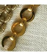 $549 ERICKSON BEAMON AERIN BOLD GOLD CHAIN BRACELET**STUNNING!**NEW!**1 ... - $224.99