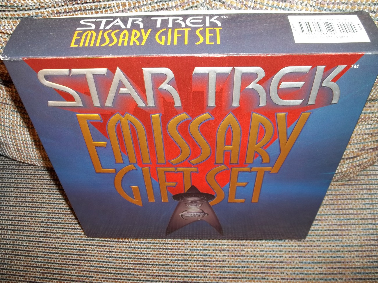 Star Trek Emissary Gift Set pc cd