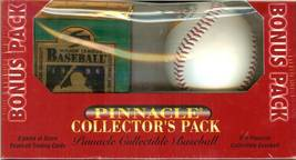 1996 pinnacle collectors pack with baseball very rare 1 special pack - $19.99