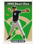 1993 Topps # 98 Derek Jeter (RC) - New York Yankees - Rookie Baseball Ca... - $19.99