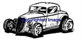 1940's Ford Auto New Release Mounted Rubber Stamp - $8.00
