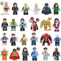 24pcs Superhero Marvel DC Harley Quinn Mutant Leader EI Dorado Minifigures Block - $33.49