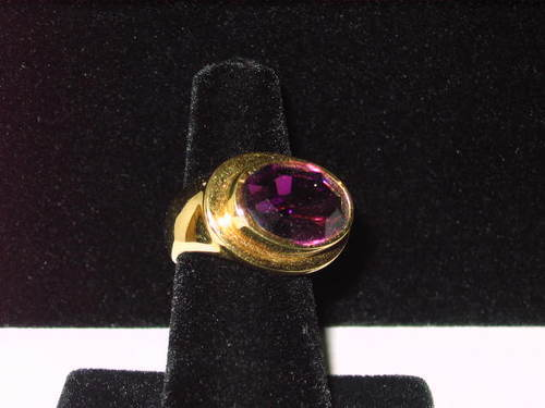 Voodoo Haunted Amethyst Ring- Spiritual Spell -