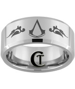 10mm Beveled Tungsten Carbide Assasins Creed La... - $49.00