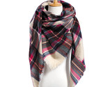 Er scarf plaid scarf designer unisex acrylic basic shawls women s scarves hot sale thumb155 crop