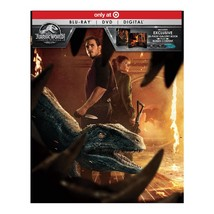 Jurassic World: Fallen Kingdom (Target Exclusive) (Blu-ray + DVD + Digital)