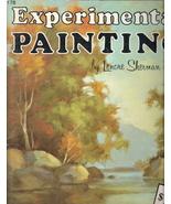 Experimental Painting # 176 Lenore Sherman 1560100273 - $20.00