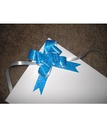 10 Starry Ribbon Pull Bows - $4.50