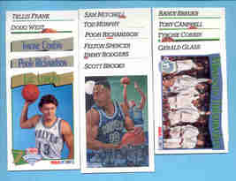 1991/92 Hoops Minnesota Timberwolves Basketball Team Set  - $2.50