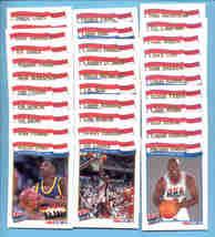 1991/92 Hoops Olympic Basketball Set  - $75.00
