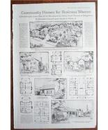 1919 Illust. Article Community Homes for Business Women - $8.50