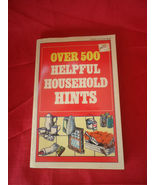 Over 500 Helpful Household Hints Home Library Paperback 1986 - $6.50