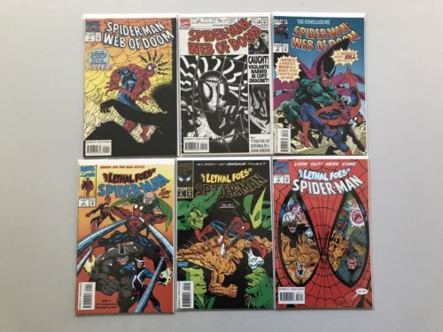 Lot of 11 Spider-Man Comics (1991 1993-1994)