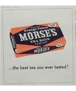 1962 Ad Morse's Orange Pekoe Tea Bags Best Ever Tasted - $4.00