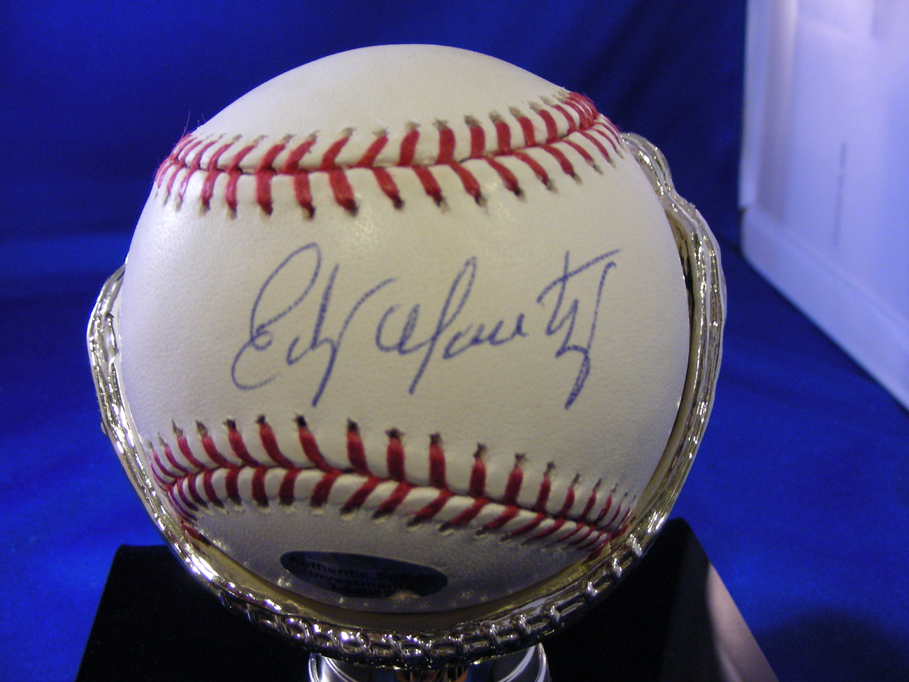 Primary image for EDGAR MARTINEZ 2X AL BATTING TITLES 5X SS AWARD SIGNED AUTO BASEBALL PSA/DNA