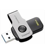 Kingston 32 gb Data Travel SWIVL USB 3.1/ 3.0/ 2.0 Flash Drive New Original Pack - $6.64