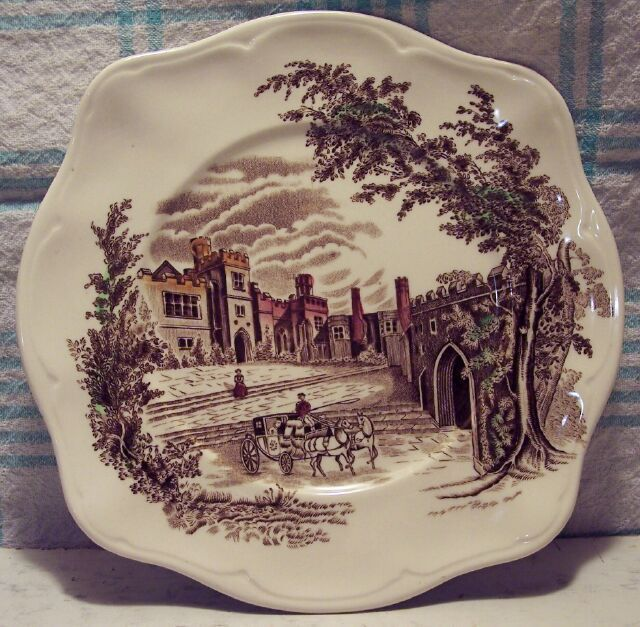 "Haddon Hall Johnson Bros. 7 1/2"" Salad Plate"