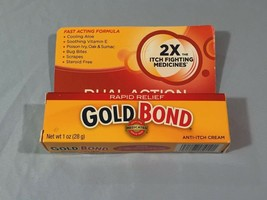 Rapid Relief Gold Bond Fast Acting Formula Anti Itch Cream 1oz - $6.92