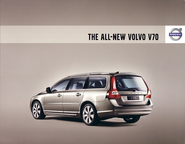 2008 Volvo V70 wagon sales brochure catalog 08 US 3.2