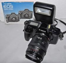 CANON EOS 650 Film Camera 35-105mm EF Lens Cano... - $66.71