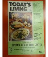 VINTAGE TODAYS LIVING MAGAZINE FEB 1982  Garlic and Aloe Vera  Vitamin B - $6.50