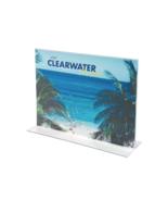 "NEW Staples Sign Holder 8.5"" x 11"" Transparent Plastic 16646 CASE/12 - $37.90"