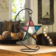 Colorful Star Lantern With Stand  14122  SMC - $19.75