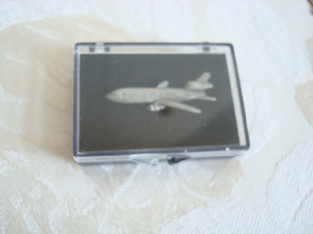 Vintage Medical Strike Force Airplane Lapel ~ Hat ~ Clutch Pin ~ Pewter