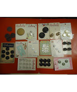 Vintage Buttons Lot Unused - $25.00