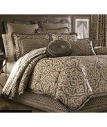 New J. Queen New York Luxembourg 7 Piece Queen Comforter Set Mink - $468.26