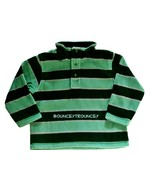 NWT Gymboree Snow Tracks Green Stripe Microfleece Snap Pullover Size 2T 3T - $14.99