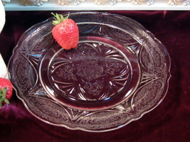 Vintage Hazel Atlas Royal Lace Crystal Dinner Plate, Depression Glass Di... - $19.99