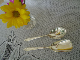 "Vintage "" First Lady"" Pattern - 1960 Meriden Silverplate Co. 2 Piece Sug... - $22.00"