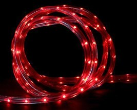 CC Christmas Decor 10' Red LED Indoor/Outdoor Christmas Linear Tape Ligh... - $27.22