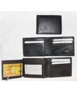 Genuine Leather Men's Bi-Fold Wallet- #82 BROWN - $18.00