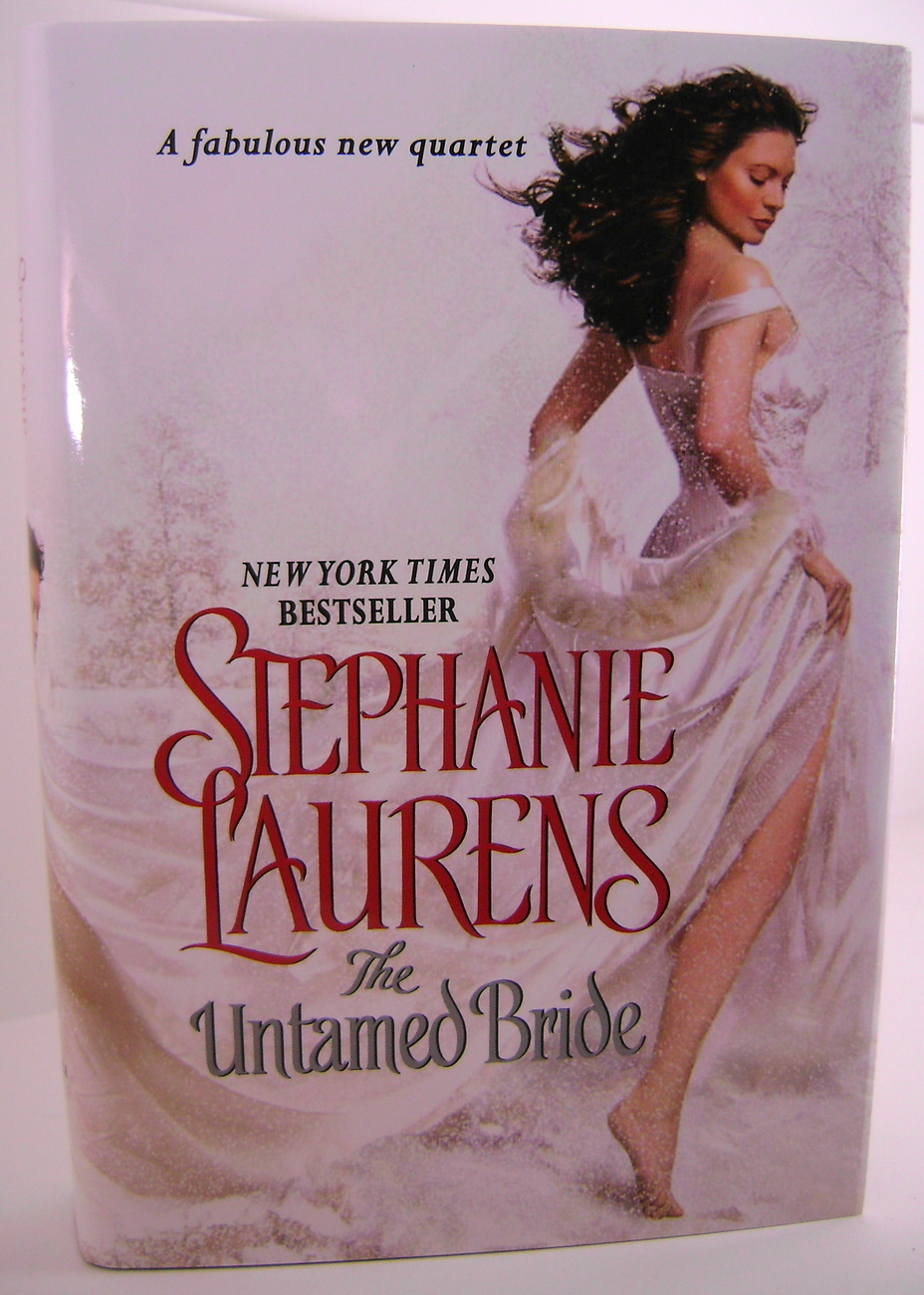 Stephanie Laurens The Untamed Bride The Black Cobra Quartet Series BCE HC