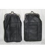 Genuine Leather Soft Cigarette Case - BLACK - $16.00