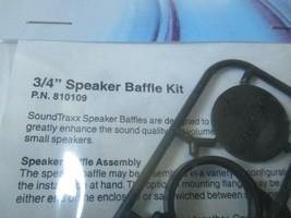 """Soundtraxx #810109 3/4"""" Speaker Baffle Kit image 2"""