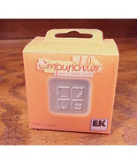 Empunchlar Punch and Emboss System Love Insert, no. PSXE04 - $4.95