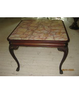 Marble top center table - $595.00