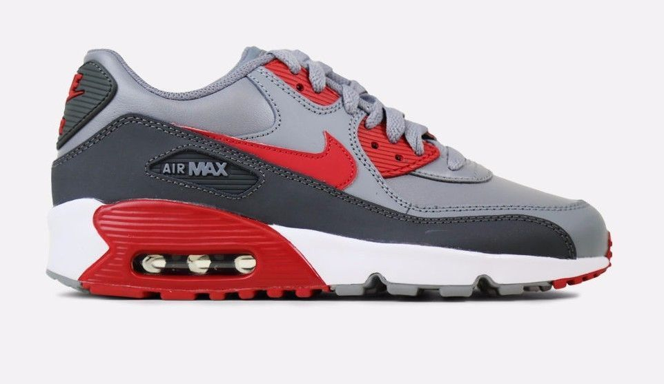 timeless design a67d8 7234c Nike Air Max 90 Leather Grade School Leather and 50 similar items. 57