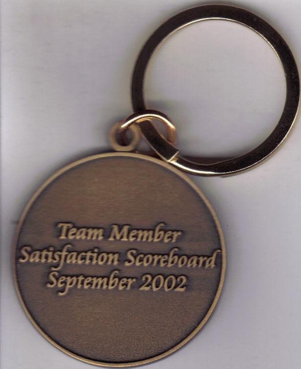 VENETIAN Hotel & Casino Team Member Keychain, 2002