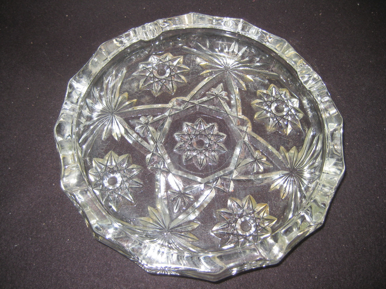 Star Of David Large Ashtray