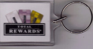 HORSESHOE Casino Hotel Tunica, MS KEYCHAIN, Total Rewards