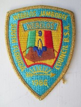 Boy Scouts Of America Bsa Webelos Jamboree 1986 South Florida Council 4 In Patch - $3.00