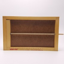 1965 Booby Trap Game Replacement Wood Spring Bar Board Only Parker Brothers - £7.26 GBP