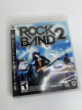 Rock Band 2 (Sony PlayStation 3, 2008) PS3 Complete w/ Manual - $8.14