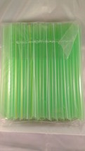 78 count Bubble Tea Fat Dringking Straws Party Smoothies Jumbo Thick Dri... - $8.99